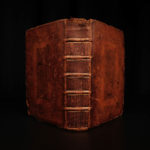 1695 VIRGIL Aeneid Bucolics Georgics Eclogues Charles la Rue Mythology London ed