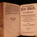 1732 Jakob Böhme Theosophy Occult Mysticism German True Repentance Supernatural