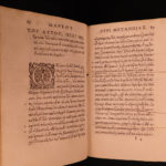 1563 1ed GREEK Early Church Fathers Miracle Marcus Eremita St Nicholas Hesychius