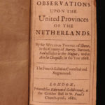 1680 Netherlands History English William Temple Government War France Amsterdam