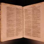 1649 Encyclopedia of Science Mathematics FOLIO Chasseneuz Catalogus Mundi