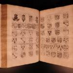 1671 Dugdale English LAW Illustrated Heraldry Portraits Origines Juridiciales