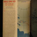 1938 1ed SIGNED Hell on Ice Ellsberg Arctic British North Pole Expeditions
