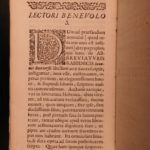 1708 Buxtorf HEBREW & Latin Jewish Bible Lexicon Dictionary Judaica Rabbinica