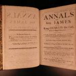 1681 1ed King James Charles I Frankland Annals anti Puritan Propaganda England