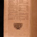 1741 On Farming Agriculture Bees Fishing WINE Beer Mining Leiser Jus Georgicum