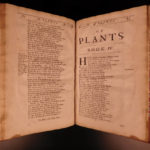 1689 FOLIO 1ed Abraham Cowley Six Books of Plants Herbs Coca Flowers English