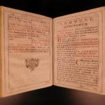 1790 Catholic Epistolary Missal Clement VIII Madrid SPAIN Illustrated FOLIO