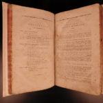 1798 Pharmacopoeia Wirtembergica Medicine Drugs Cures Anatomy Surgery Wittenberg