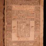 1544 RARE Ludolph of Saxony Life of Christ Bible Ignatius Loyola Badius Woodcuts