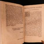 1552 Bembo Letters Italian Renaissance Erasmus Rotterdam Reginald Pole Alciato