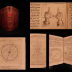 1693 Pozzo Gnomonics Biformis Geometry & Astronomy Sundials CLOCKS Illustrated