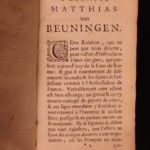 1663 1st ed Court of Rome Papacy of Pope Alexander VII Vatican Elzevier Corraro