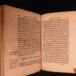 1557 1ed Witekind Lives Caesars Suda Byzantine ROME Latin Melanchthon Wittenberg