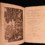 1800 1ed La Perouse Voyage Pacific Islands New Zealand Shipwreck MAP Billardiere