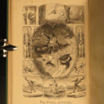 1869 ART George Cruikshank's Table Book London England Caricature Illustrated