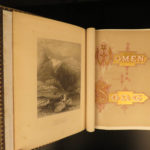 1875 Women Gallery of English & American POEMS Song & Lyrics Coppee Illustrated