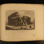 1845 Views of Ancient ROME Illustrated Engravings Colosseum St Peter Basilica