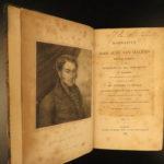 1827 1st ed Imprisonment INQUISITION Juan Van Halen TORTURE Voyages Caucasus
