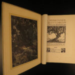 1908 1st ed A Midsummer Night's Dream Shakespeare Theatre Rackham Illustrated