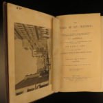 1855 1st ed San Francisco California Gold Rush Illustrated MAPS Soule Indians