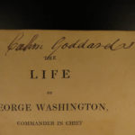 1807 1ed Ramsay Life of George Washington American Revolution Valley Forge RARE
