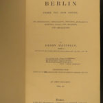 1879 Berlin New Empire Vizetelly Illustrated Prussia Politics Germany William I