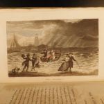 1813 Scarborough Sketches 21 Color Illustrated PLATES Poems Art Humor Rowlandson
