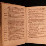 1593 Flaccus Latin Dictionary Festus Palazzo Farnese ROME Mythology gods RARE