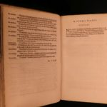 1593 Flaccus Latin Dictionary Festus Palazzo Farnese ROME Mythology gods RARE
