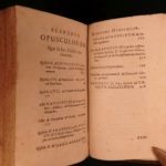 1673 Saint Augustine of Hippo Letters Grace & Free Will Predestination Latin