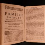 1665 Cordier Holy Family Jesuit Catholic Ethics Marriage Parenting Virgin Mary