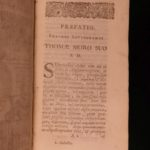 1685 1ed Praise of Folly Erasmus of Rotterdam Protestant Reform Humanism Latin