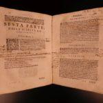 1583 1ed Patrizi La Militia Romana Polybius LIVY Dionysius ROME Military Ferrara