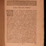 1696 Marsham Chronicus Canon Jewish & Egyptian RITES Hebrew Greek Latin