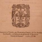 1562 FLORENCE Chronicle Villani Nuova Cronica Fiorenza ITALY Black Plague RARE