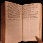 1707 RARE Homer ILIAD Greek Mythology Latin & Greek Achilles Estienne Trojan War