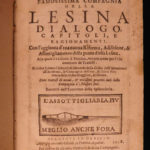 1598 Lesina Company Dialogues Italian Political Satire Cuisine Finance Orvieto