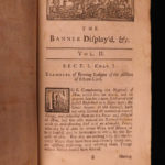 1726 1st ed HERALDRY Banner Displayed Samuel Kent English Illustrated George II