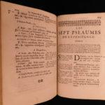 1717 1ed Louis XV Armorial PROVENANCE Holy Week Breviary Catholic Church Missal