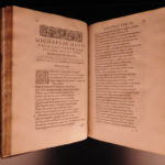 1585 1ed Michel de Hopital Epistolarum seu Sermonum French Humanism Latin Poetry