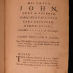 1748 TRUE 1st ed George Anson Voyage Round the World MAPS Spain South America