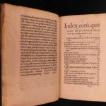 1537 1ed John Froissart Chronicles Medieval Hundred Years War Chivalry Sleidanus