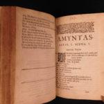 1640 Poems of Thomas Randolph English Literature Muses Looking-Glass Amyntas