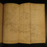 1840 1st ed Voyages of Dourga Dutch Australia Molucca South Pacific MAPS English