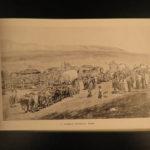 1888 Salt Lake City Utah ILLUSTRATED Mormon Brigham Young Grave Indians