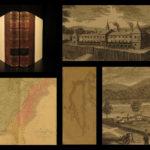 1848 Mississippi Exploration Indian Wars Color MAP Western Americana Monette