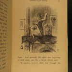 1872 1ed Through the Looking Glass Carrol Tenniel Alice Wonderland Jabberwocky