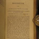 1857 1st ed Husband in Utah MORMON Polygamy Brigham Young INDIANS Orson Pratt