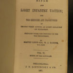 1861 Hardee Confederate Rifle & Light Infantry Tactic Battle Maps Civil War 2v